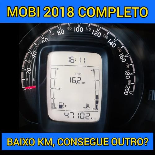 Mobi 2018 Drive Flex Completo Ar Condicionado Laudo Aprovado