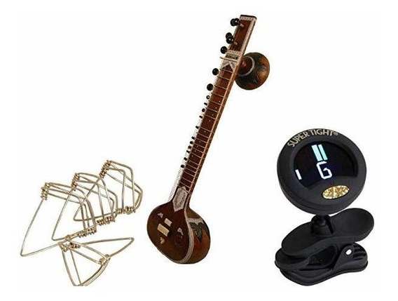 Indian Sitar Package Includes Full Size Authentic Standard S
