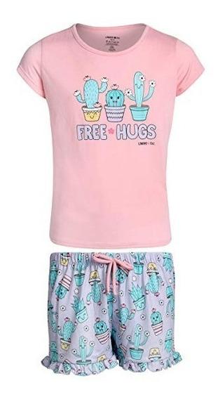 Pijama Limited Too De Niña Cactus