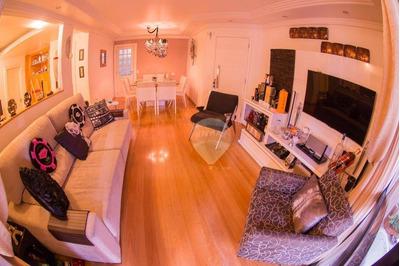 Apartamento Com 2 Dormitórios À Venda, 129 M² Por R$ 1.100.000 - Brooklin - São Paulo/sp - Ap3309