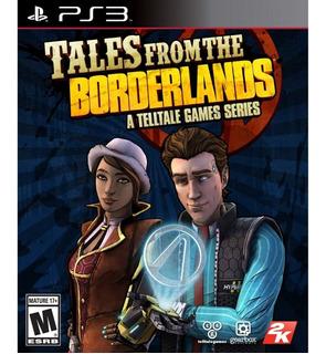 Tales From The Borderlands Ps3 Fisico Nuevo Y Sellado