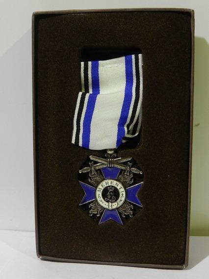 Medalla Condecoracion Meito Militar Baviera 1866