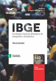 Apostila Ibge 2017 - Recenseador - Nível Fundamental