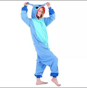 Promoçao Stitch Disney Pijama Kigurumi Pronta Entrega