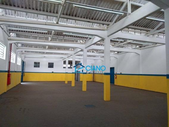 Galpão Para Alugar, 1100 M² Por R$ 25.000/mês - Ipiranga - São Paulo/sp - Ga0274