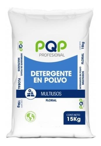 Imagen 1 de 1 de Detergente Pgp Profesional Granel 15kg Saco Aroma Floral