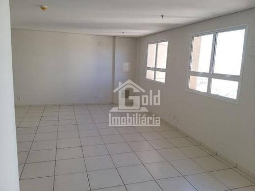 Sala Para Alugar, 49 M² Por R$ 1.100,00/mês - Nova Ribeirânia - Ribeirão Preto/sp - Sa0376