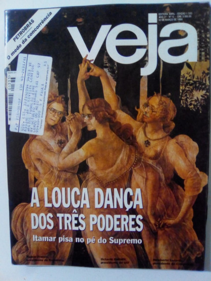 Revista Veja 1333 Reggae Marley Paulo Francis Ditadura 1994