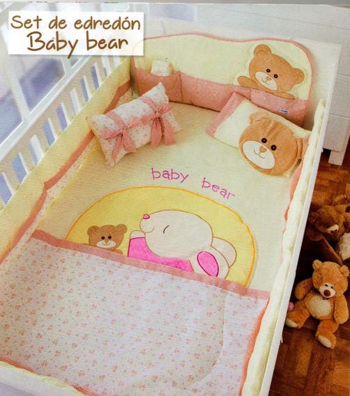 Set De Edredón Baby Bear, Cama Cuna Corral
