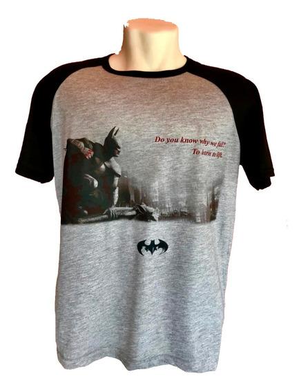 Camiseta Batman Arkhan Asylum