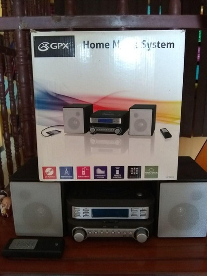 Reproductor De Cd Compacto Gpx Home Sistem