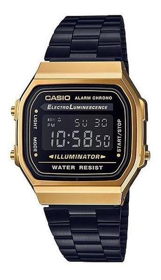 Reloj Casio Vintage A168wegb-1b