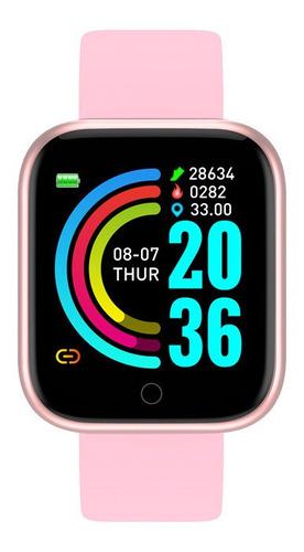 Relogio Feminino Masculino Esportivo Digital Smartwatch