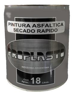 Pintura Asfaltica X 18 Litros - Base Solvente - Proplasto