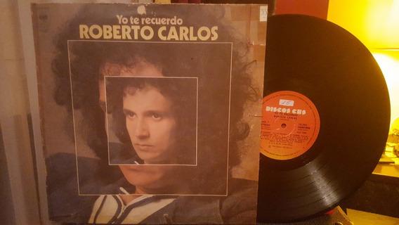 Roberto Carlos Yo Te Recuerdo Lp Disco Vinilo Ex+