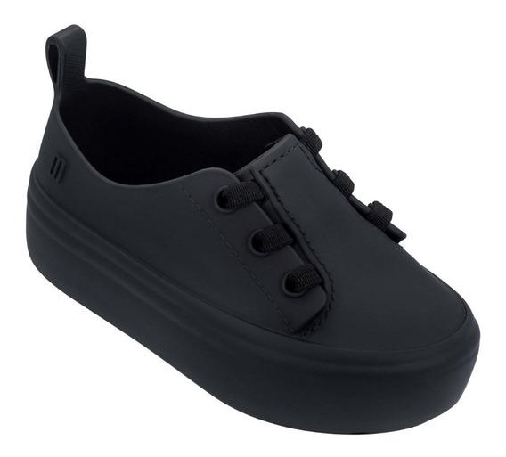 Mini Melissa Ulitsa Sneaker Tênis Branco Preto Rosa Original