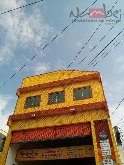 Salão Para Alugar, 295 M² Por R$ 3.000,00/mês - Vila Carmosina - São Paulo/sp - Sl0018