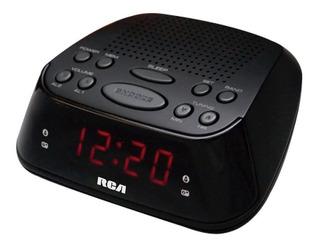 Radio Reloj Despertador Pantalla Led Rca Rp-2840