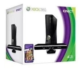 Xbox 360 4 Gb + 2 Controles + Hd 320 Gb + 45 Jogos De Brinde
