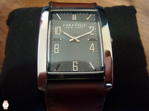 Reloj Caravelle By Bulova All Stainless Steel