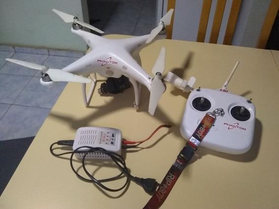 Drone Phantom Com Câmera Gimbal