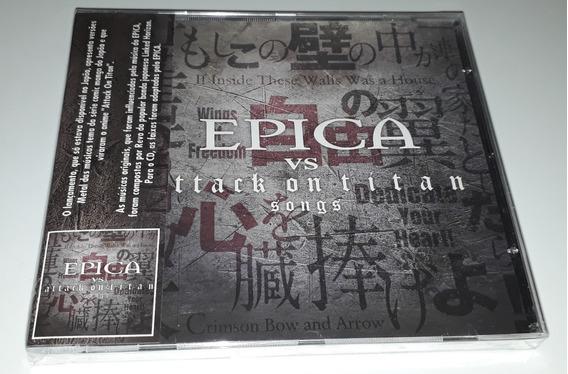Epica Vs Attack On Titan Songs (ep) (cd Lacrado)