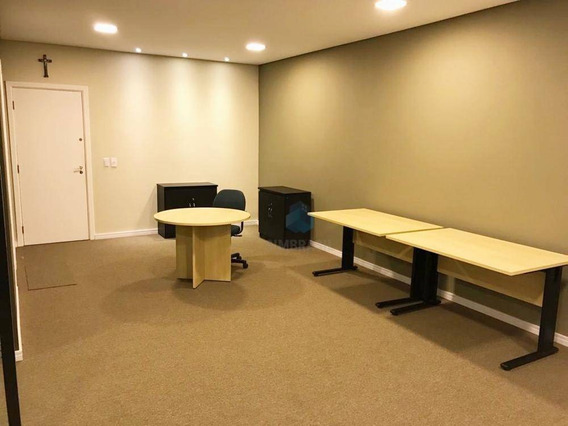 Sala Para Alugar, Com 42m² Por R$ 1.500/mês - Alphaville Campinas - Campinas/sp - Sa0040