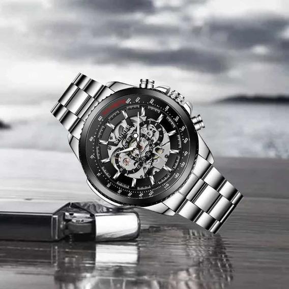 Relógio Winner Modelo Caveira Frete Grátis