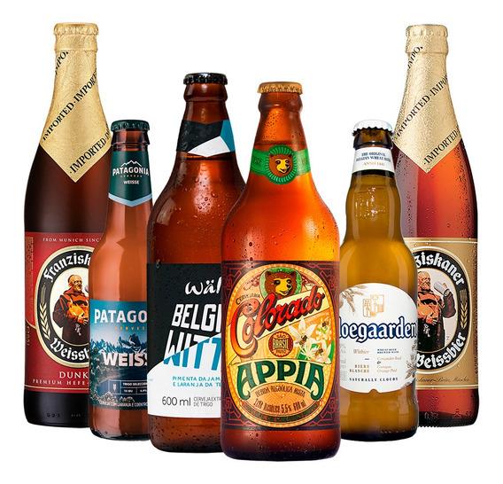 Kit De Degustação De Cervejas De Trigo
