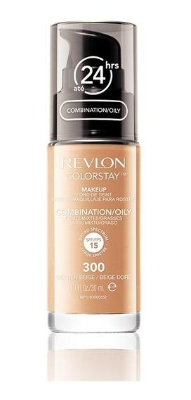 Base Líquida Colorstay Pump Oily Skin Golden Beige 300 30ml