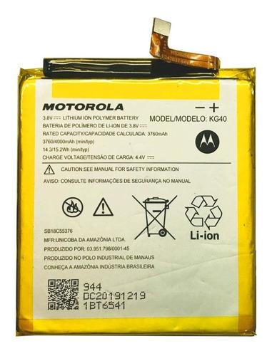 Bateria Original Motorola Moto G8 Play Kg40 De 4000mah Nueva