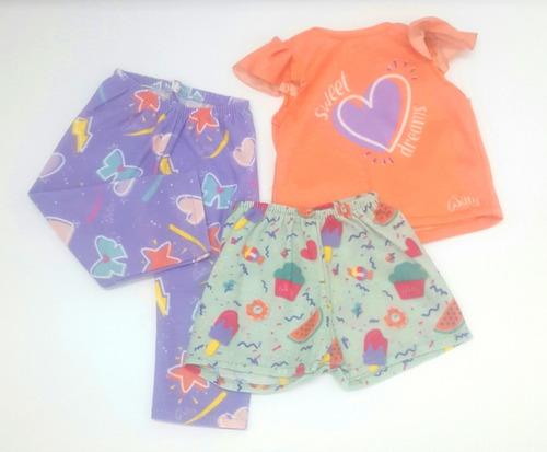 Witty Girls Pijama Sweet Dreams Ropa Muñecas 45 Cm/18 PuLG