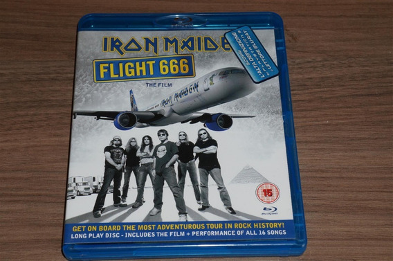 Yz Blu Ray Iron Maiden Flight 666 Importado Estado De Novo