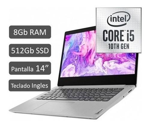 Imagen 1 de 8 de Lenovo Ideapad 3 14  Core I5 8gb Ram 512gb Ssd Notebook