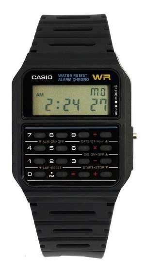 Relógio Casio Data Bank Ca-53-1cr Preto Original Anos 90