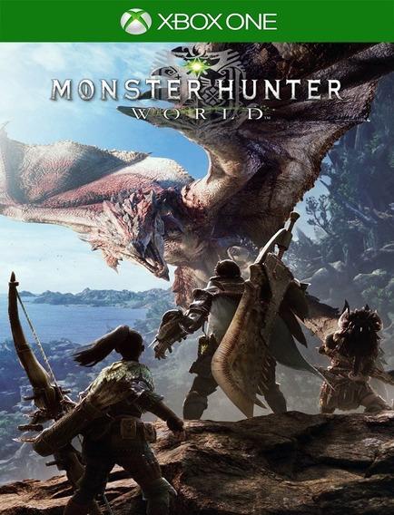 Monster Hunter World Xbox One - Envio Rápido (25 Dígitos)