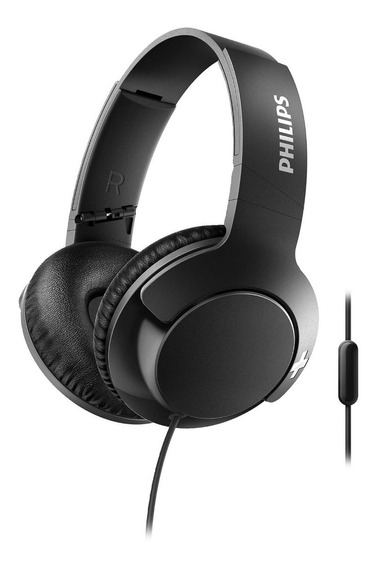 Auriculares Vincha Con Microfono Philips Bass + Shl3175bk/00