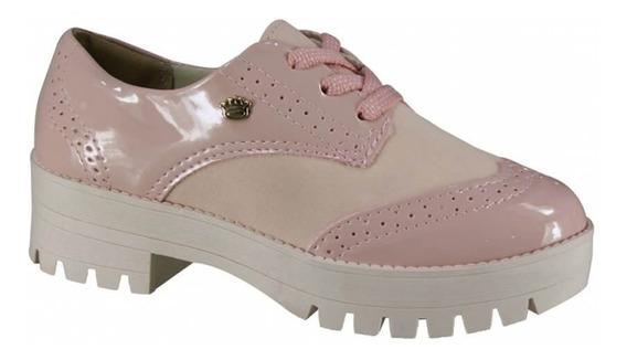 Sapato Infantil Pink Cats Oxford V0491