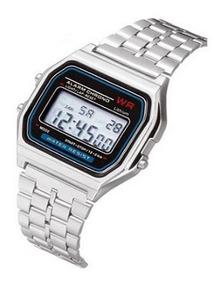 Reloj Pulsera Digital Mujer Hombre Unisex Led Tipo Casio