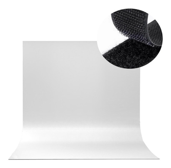 Tecido Branco Fotográfico Estudio Fundo Infinito Youtubers 2