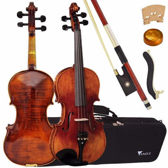 Violino Eagle Vk 644 4/4 Tampo Spruce Maciço Oferta!