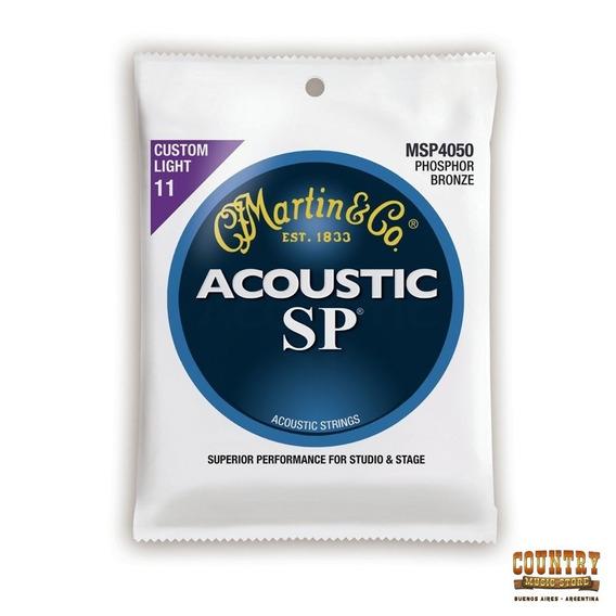 Cuerdas Martin & Co Guit. Acustica Msp4050 Light 11 - 52