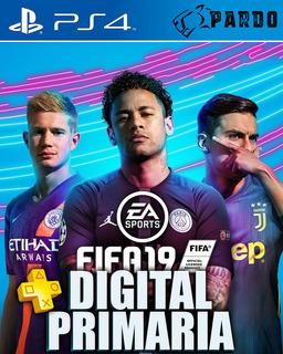 Fifa 19 Ea Sports + Plus - Ps4 Digital - Pardo