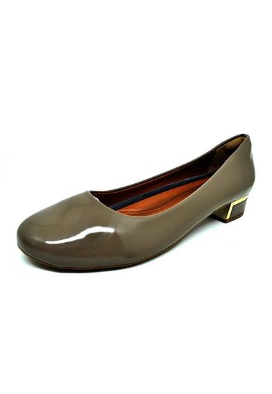 Sapatos Femininos Scarpin Bico Redondo Verniz Fendi Dani K