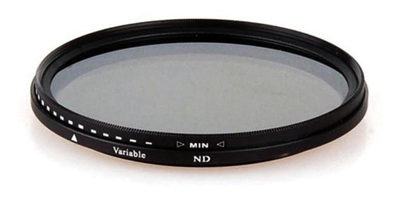 Filtro De Lente 58mm Greika Variável 12 Camadas