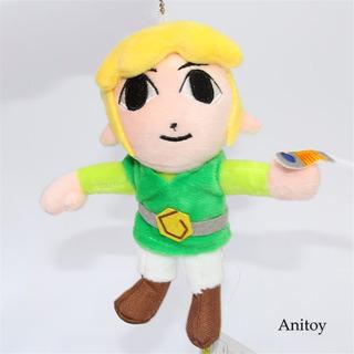 The Legend Of Zelda Link 16cm Llavero Peluche Colgante