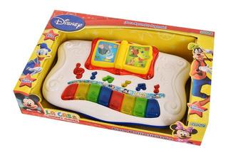 Juguete Para Bebes Piano Musical Mickey Club House Ditoys