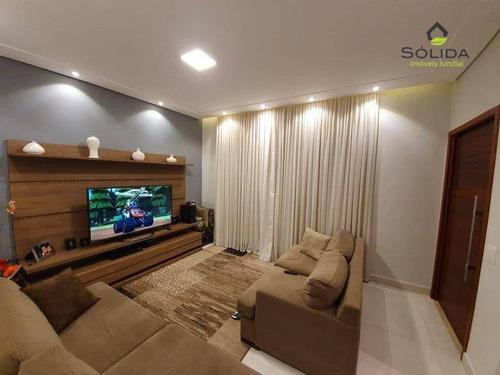 Imagem 1 de 24 de Casa Com 3 Dormitórios À Venda Por R$ 770.000,00 - Mirante De Jundiaí - Jundiaí/sp - Ca0586