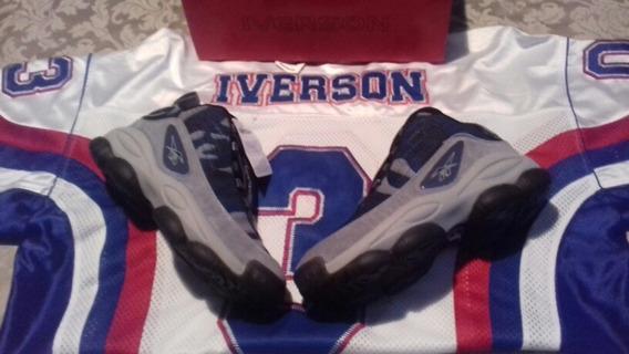 Tenis Retro Iverson 7.5 Legacy Pack Jordan Basquet Lebron S7