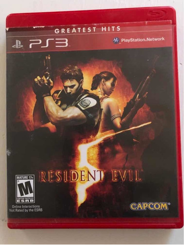 Resdent Evil Ps3 Físico
